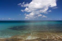 Calm Caribbean Ocean Stock Photography