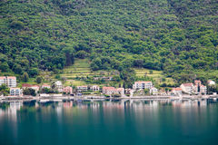 Calm Coast of Montenegro Stock Photo