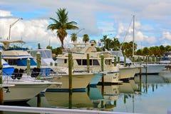 Calm Coastal Marina Stock Photography
