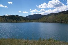 North Lake in Colorado.  Royalty Free Stock Images