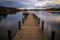 Calm Coniston Waters royalty free stock image
