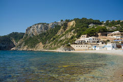 Calm Costa Blanca beach Stock Image