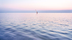 Calm evening on the sea Stock Image