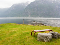 Calm fjord Royalty Free Stock Image