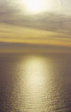 calm france pastel sea sunset Στοκ Εικόνα