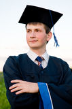 Calm graduate student Stock Photography