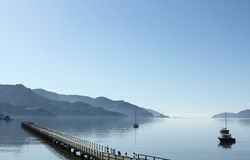 Calm Harbour Royalty Free Stock Photography