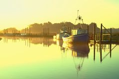 Calm harbour. Royalty Free Stock Photos