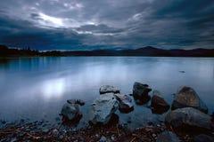 Calm Hauser Lake. Stock Photo