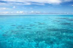 Calm Indian Ocean Stock Photo