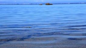 Calm lagoon stock video footage