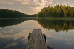 Calm lake Royalty Free Stock Photography