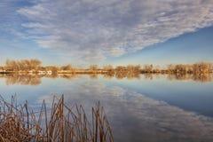 Calm lake in Colorado Royalty Free Stock Photo