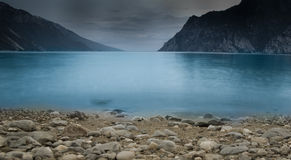 Calm lake landscape Stock Photography