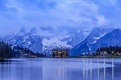 Calm Lake Misurina Stock Photography