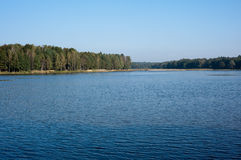 Calm lake in the Poland Stock Photography