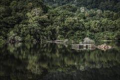 Calm lake Royalty Free Stock Photos