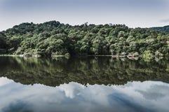 Calm lake Stock Photography