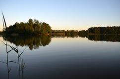 Calm lake water Royalty Free Stock Photo