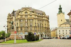 Calm Lviv Royalty Free Stock Photography