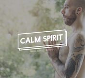 Calm Mind Spirit Calmness Meditation Relaxation Concept Stock Photos