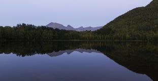 Calm mirror lake Royalty Free Stock Photo