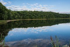 Calm Mirror Reflective Lake Royalty Free Stock Photography