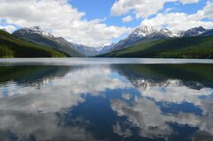 Calm mountain lake Stock Photo