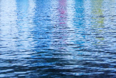 Colors on calm ocean Royalty Free Stock Image