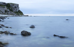 Calm Ocean with Rocks Royalty Free Stock Image