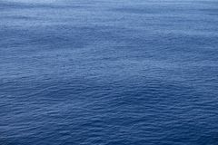 Calm ocean water royalty free stock photography