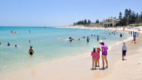 Calm Ocean Waters: Cottesloe Beach royalty free stock photo