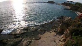 Calm Ocean Waves stock video