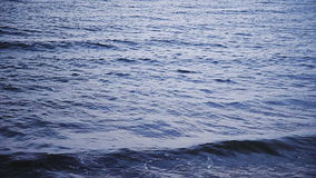 Calm Ocean and Waves View stock video footage