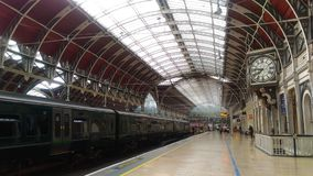 Calm before the Paddington Storm royalty free stock image
