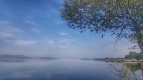 Calm and peaceful Lake of Sapanca, Turkey stock images