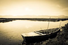 Calm river scene Royalty Free Stock Photography