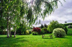 Calm rural landscape Stock Photography