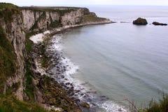 Calm sea on the coastline in Ireland royalty free stock photos
