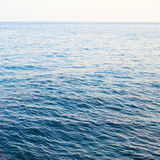 Calm sea extending Stock Photo