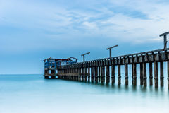 Calm Sea Jetty Stock Photography