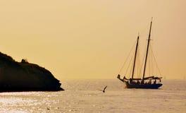 Calm, Sea, Sky, Horizon stock photography