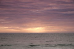 Calm sea with soft color tones Royalty Free Stock Photos