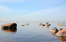 Calm sea Stock Image