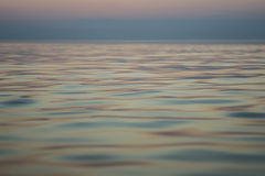 Calm sea during sunset. Macro shooting of calm sea during sunset Stock Images