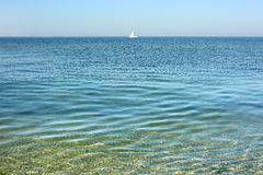 Calm sea surface. Royalty Free Stock Images