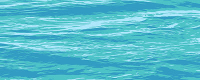 Calm_sea_surface_texture. Vector drawing of a calm sea surface Stock Photography