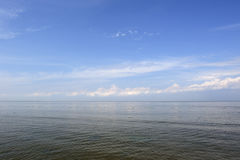 Calm Sea under Blue Sky Royalty Free Stock Images