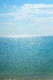 Calm sea vertical background. Beautiful seascape. Royalty Free Stock Images