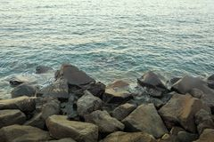 Calm sea water Stock Photo